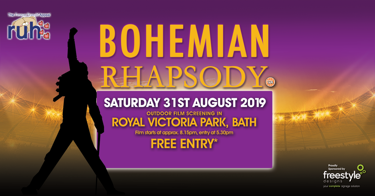Image for Movie By Moonlight presents 'Bohemian Rhapsody'