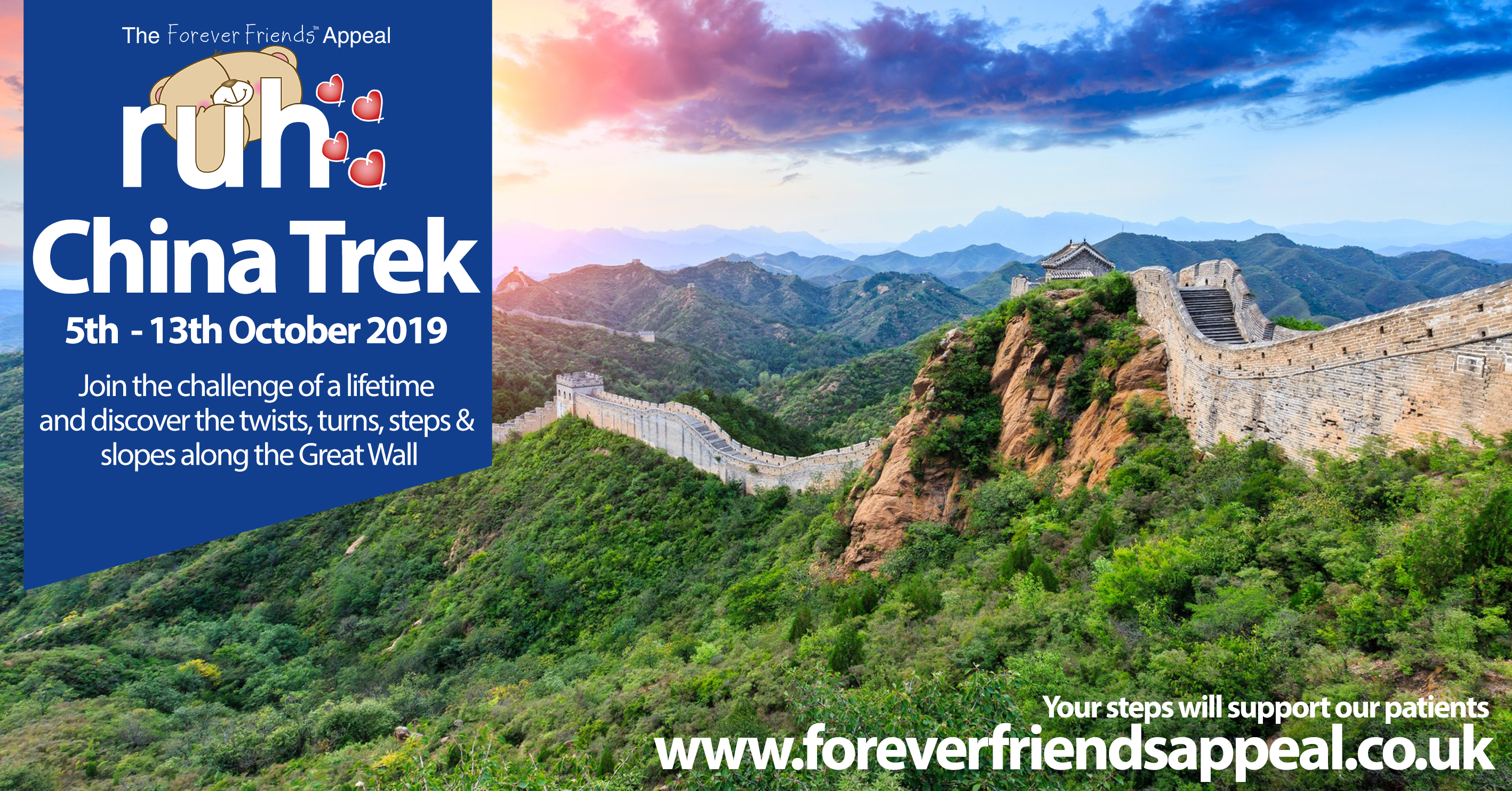 Image for Trek the Great Wall of China for patients at the RUH