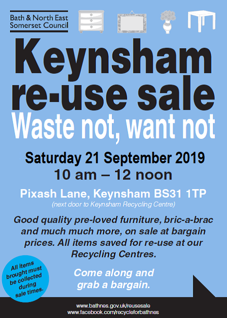 Image for Keynsham Re-use Sale