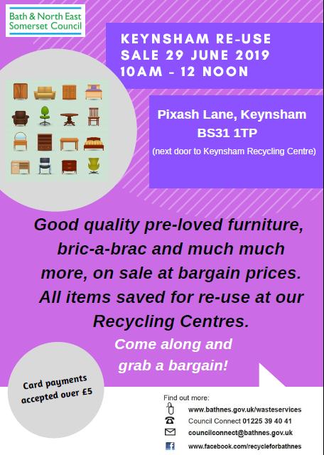 Image for Keynsham Re-use Sale