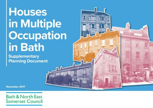 Click here to view the Houses in Multiple Occupation Supplementary Planning Document