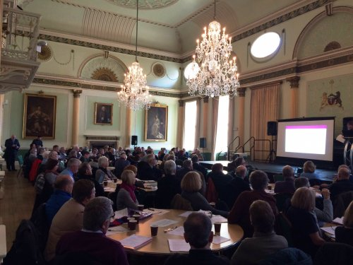 The Neighbourhood Planning Workshop held within The Banquetting Room of The Guildhall in Bath on 25th January 2017