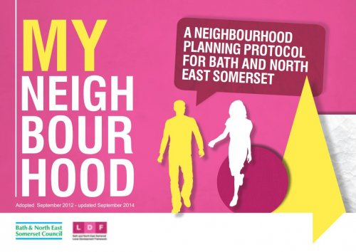 Click to download the 'My Neighbourhood' planning document.  Please note that this file is 4.8 MB.