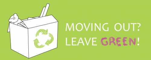 Student move out campaign logo