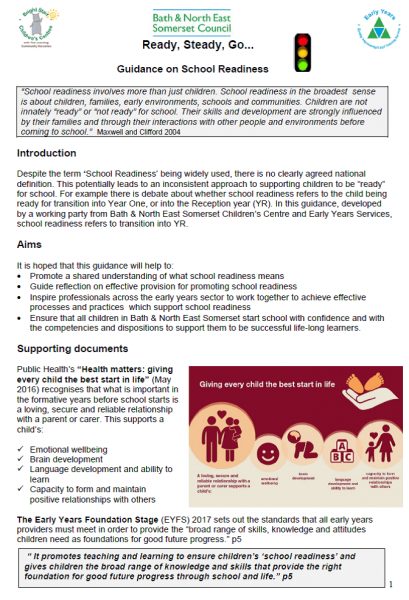 Safeguarding Guidance File | Bathnes