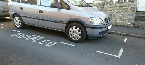 Advisory Disabled Parking Bay
