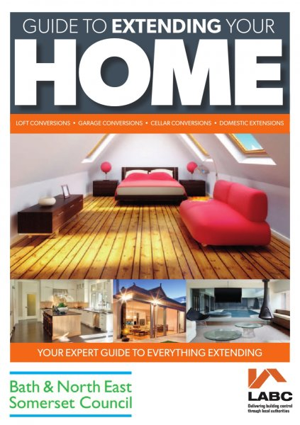 Guide to extending your home booklet