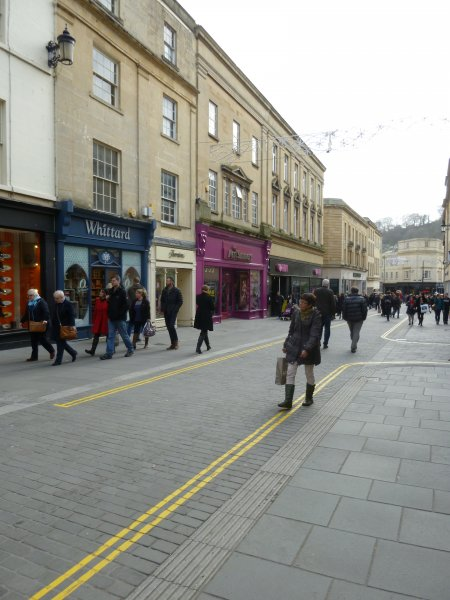 Stall Street and Lower Borough Walls Pedestrian Improvements