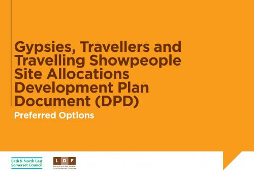 Gypsies, Travellers and Travelling Showpeople Site Allocations DPD: Preferred Options Paper