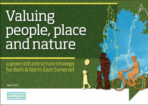 Front cover of Green Infrastructure Strategy March 2013
