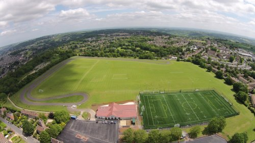 Aeriel photo of Odd Down Sports Ground
