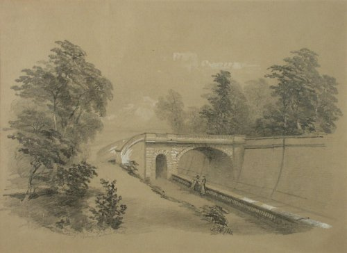 Great Western Railway drawing c.1861 William Noble Hardwick