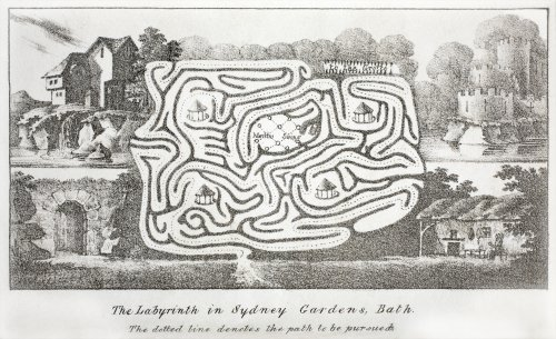 The Labyrinth in Sydney Gardens c.1825