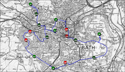 Map Of Bath Area Bath Area Profile | Bathnes