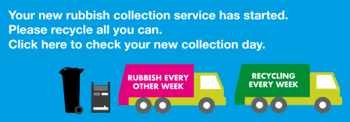 new rubbish collection service has started