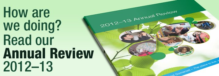 How are we doing?  Read our Annual Review 2012/13