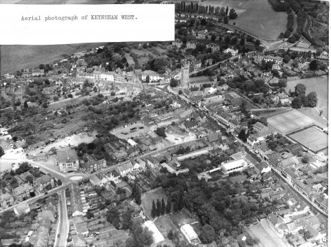 Aerial view Keynsham west