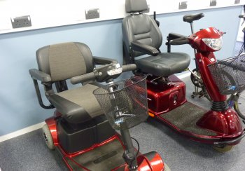 Shopmobility scooters