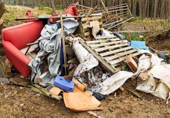 rubbish accumulation