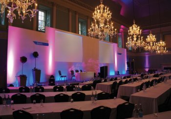 Assembly Rooms conference, photograph by Julian Philpott