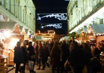 Image of Christmas Lights in Bath Street