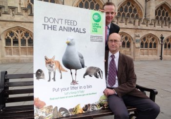 Don't Feed the Animals Campaign