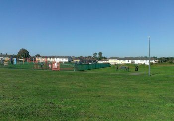 A view of Kelston Road Park