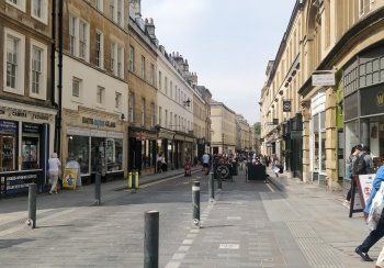 Bath city centre security