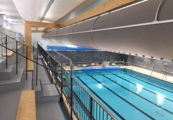 Refurbished main pool