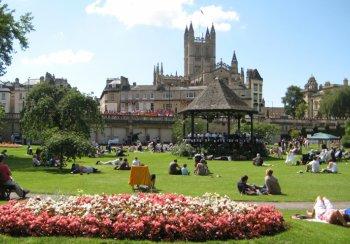 Bandstand: Parade Gardens, Bath