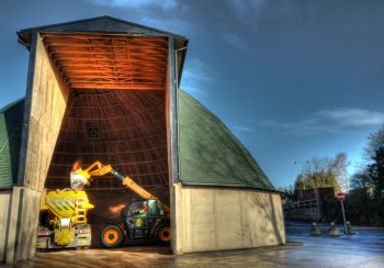 Clutton salt barn