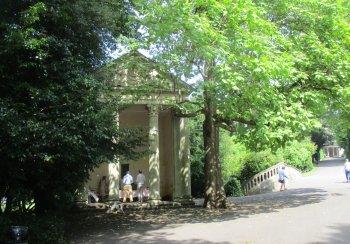 Temple of Minerva, Sydney Gardens