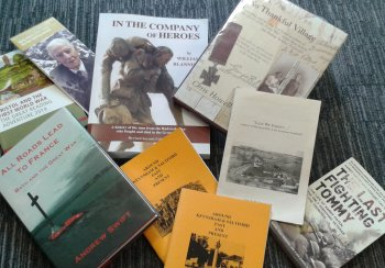 Image: books written about local places and people in World War One
