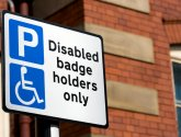Disabled Badge Holder Sign