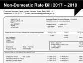 Business Rates bill