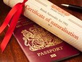 Scroll and UK Passport