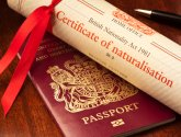 Scroll and UK Passport