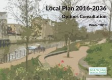 Local Plan 2016-2036 Options Consultation Winter 2018