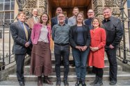 Pictured l-r back Councillor Paul Crossley, Councillor Tim Ball, Councillor Kevin Guy, Councillor Rob Appleyard (front) Councillor Neil Butters, Councillor Sarah Warren, Councillor Richard Samuel, Councillor Dine Romero, Councillor Joanna Wright and Councillor Dave Wood