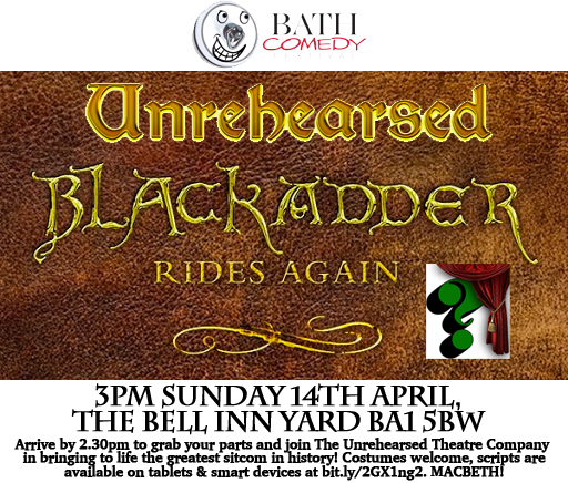 Image for Unrehearsed Blackadder Rides Again