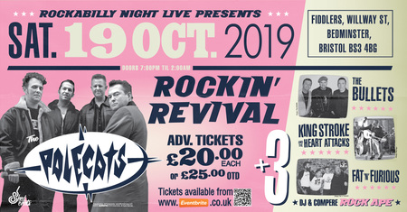 Image for The Rockin' Revival - Polecats plus 3